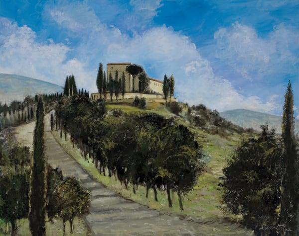 Montalcino Castle Art | Sandy Garnett Studio
