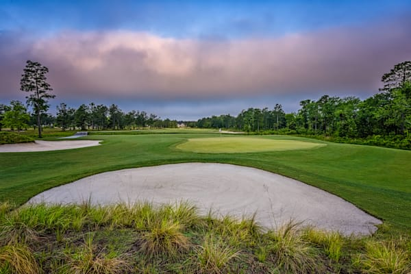 Turn Around - 11th Green at Sunup, Compass Pointe, Leland, NC