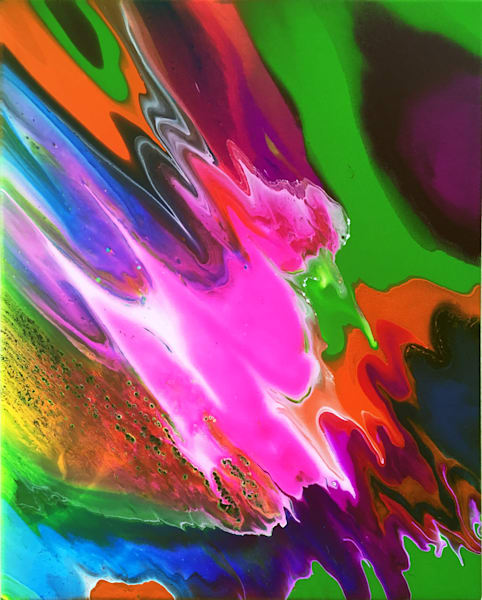 Save Us PMS Abstract Painting