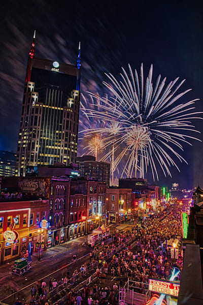Nashville 2018 Fireworks, Red White and Blue Series #2