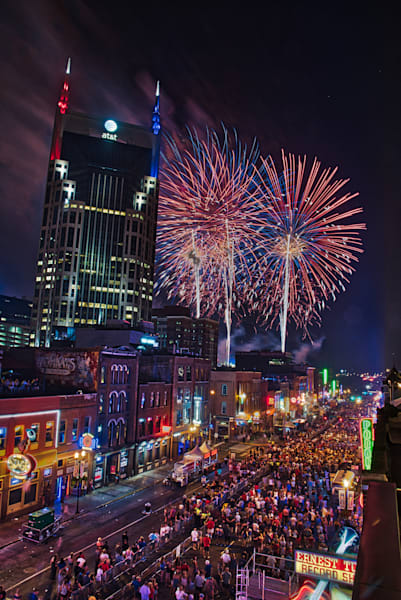 Nashville Fireworks Broadway, Red White and Blue series #9