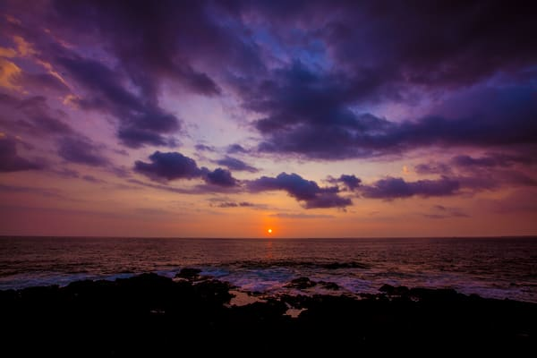 Sunset On The Big Island | Hawaii