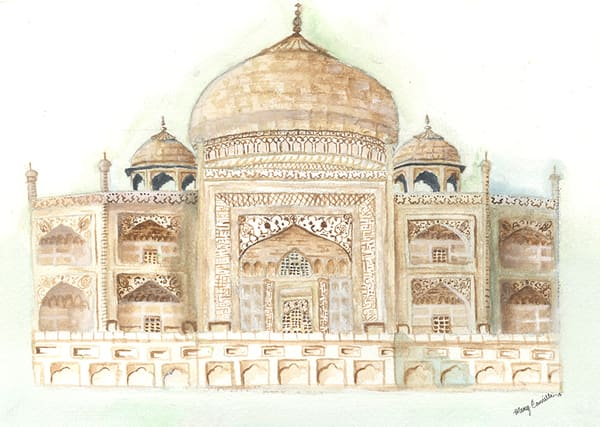 Taj Mahal Art | Digital Arts Studio / Fine Art Marketplace