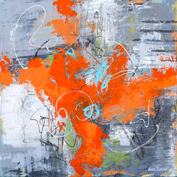 Lively Abstract Color Art for sale | Anne Rivers