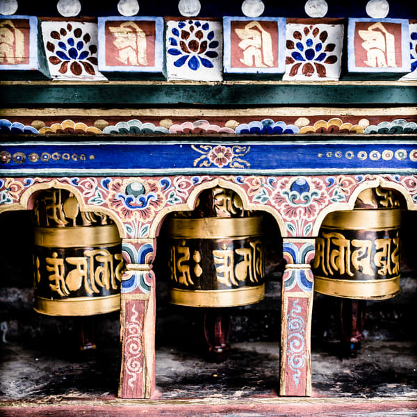 Prayer Wheels | Bhutan