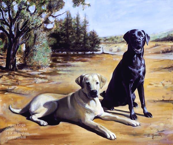 Logan Dogs Art | Sandy Garnett Studio