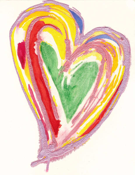 Heart #13 B Art | Pam White Art