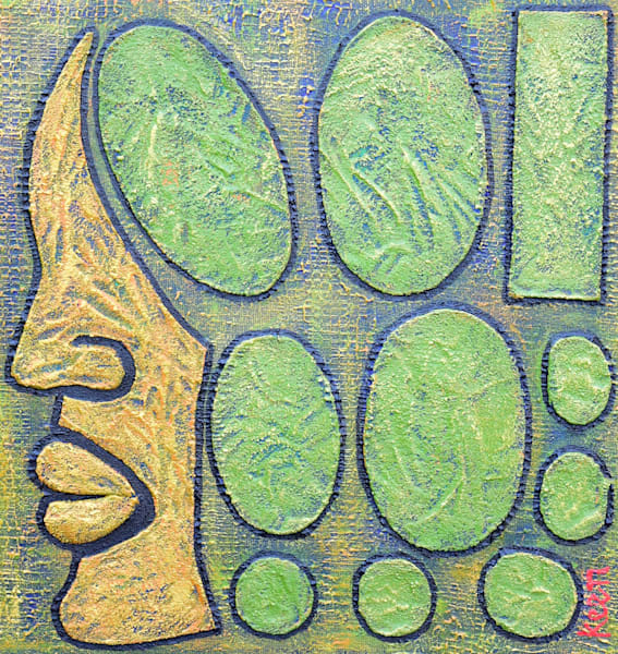Square In A World Of Circles by Sheryl Keen | SavvyArt Market original painting