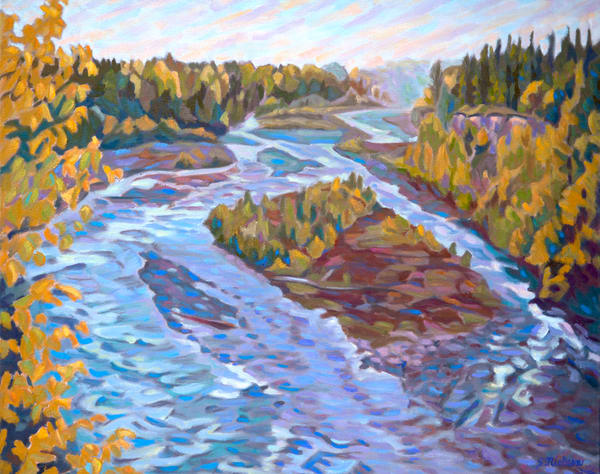 Big Oliver Creek - Canadian artist Sherry Nielsen