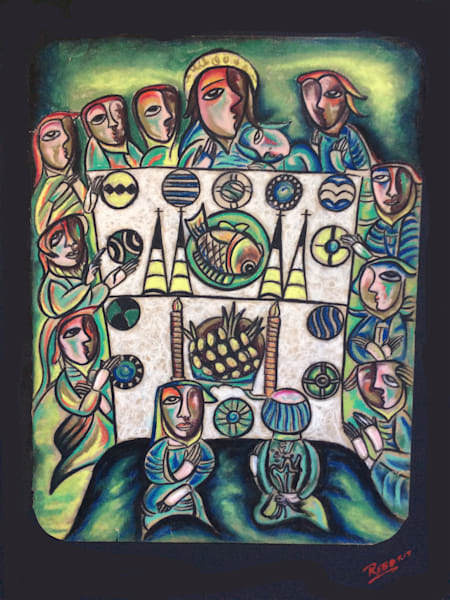 """The Last Supper II"" by Humberto Rebollo 