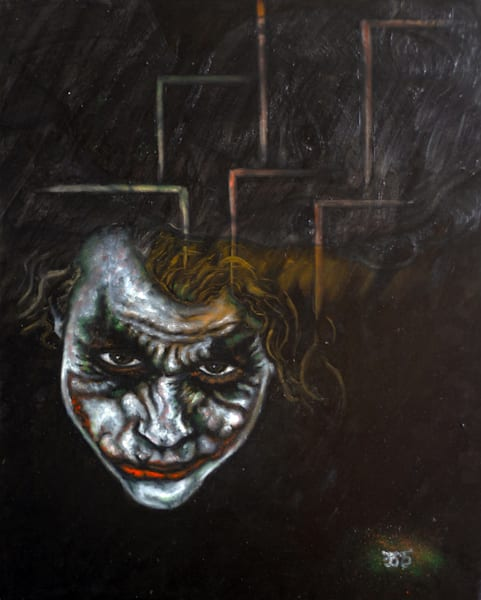 The Joker PMS original painting