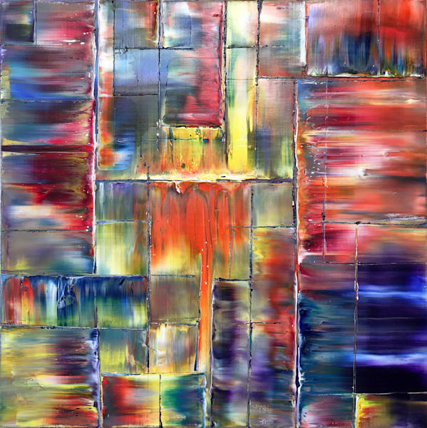 Tipping Point PMS abstract painting