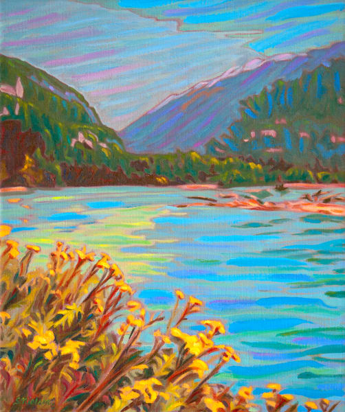 Skeena Blossoms - Canadian artist Sherry Nielsen