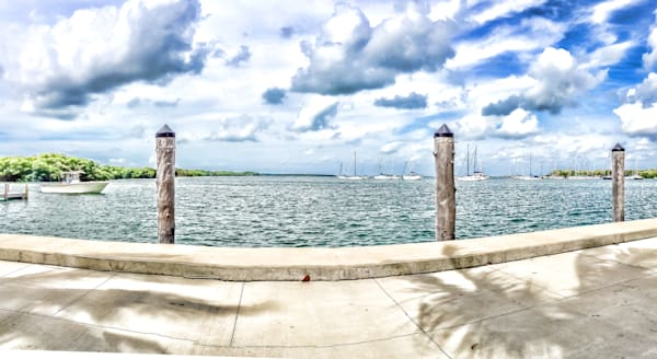 Sailboats in the Marina, Biscayne Bay
