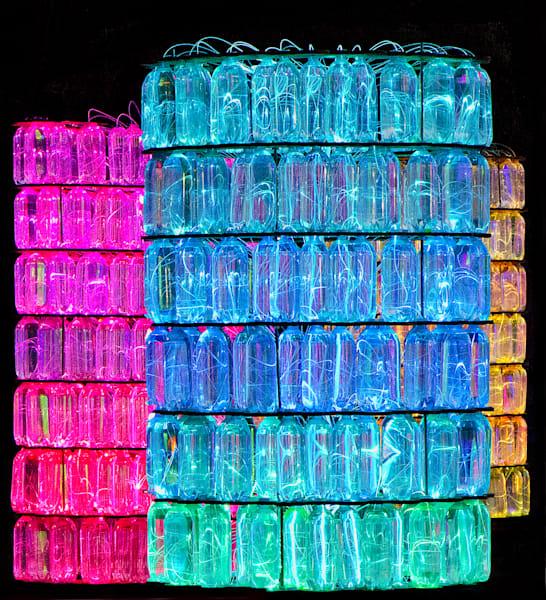 Colorful Neon Fiber Optics