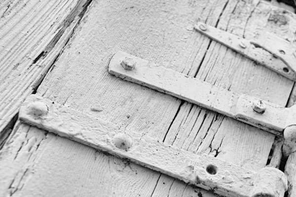 Vintage White Door Hinges