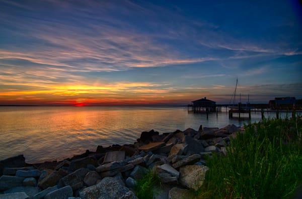 Sunset Dock House Sunset