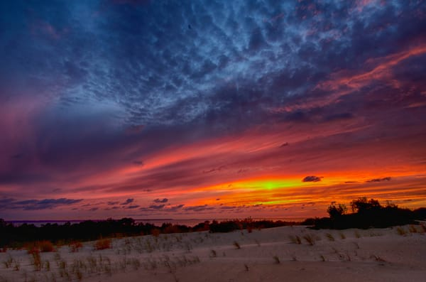 Incredible Sunset at The Outer Banks Jockeys Ridge