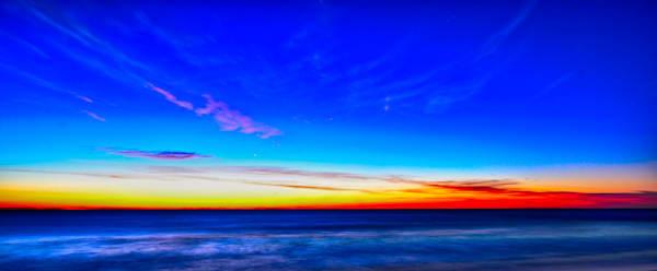 Intriguing Cobalt Blue  Sunrise in Ocean City Maryland