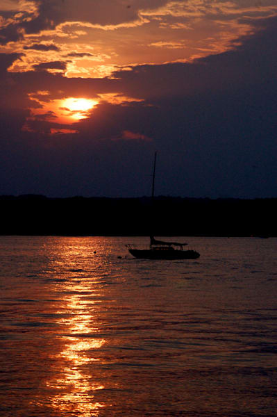 Sunset Chesapeake Bay Prints and Canvas Wraps