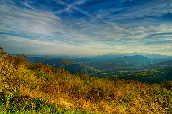 Skyline Drive is notorious for its incredible scenic fall foliage.