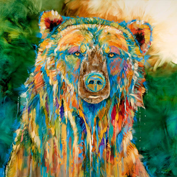 Grizzly Blues by Carol Hagan