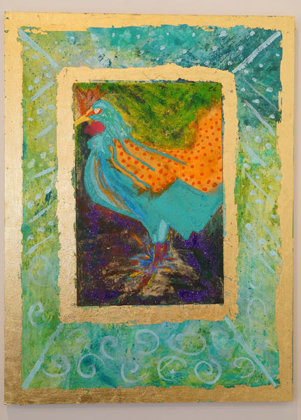 Lucky Hen | Pam White Art