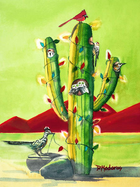 Kathy's Friends | Tucson Holiday Cards | Saguaro Art