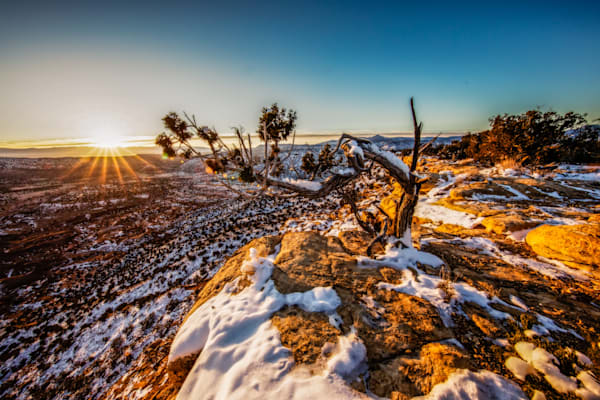 Copper Canyon Sunrise Photography Art | Third Shutter from the Sun Photography