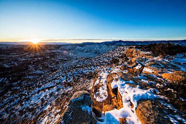 Cooper Canyon Sunrise Scenic