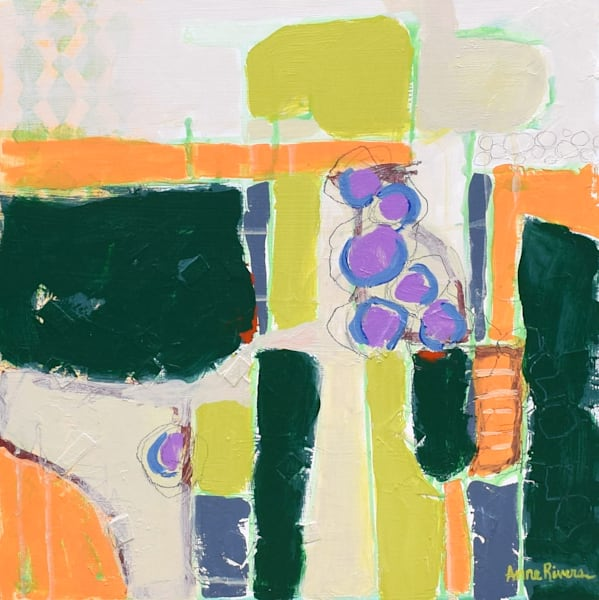 Gardens Abstract Color Art for sale | Anne Rivers