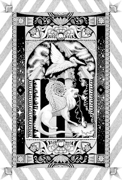 16x20 The Universe In Miniature #2 Art   HFA print gallery