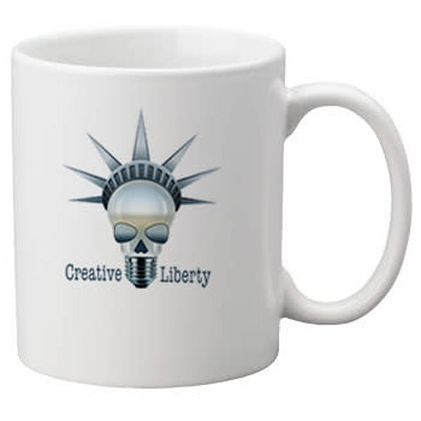 Creative Liberty Coffee Cup