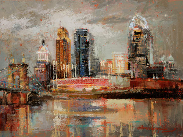 Cincinnati In The Mood Art | Robin Imaging Services