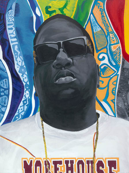 Notorious b.i.g – my 1st thought Art by robinimaging