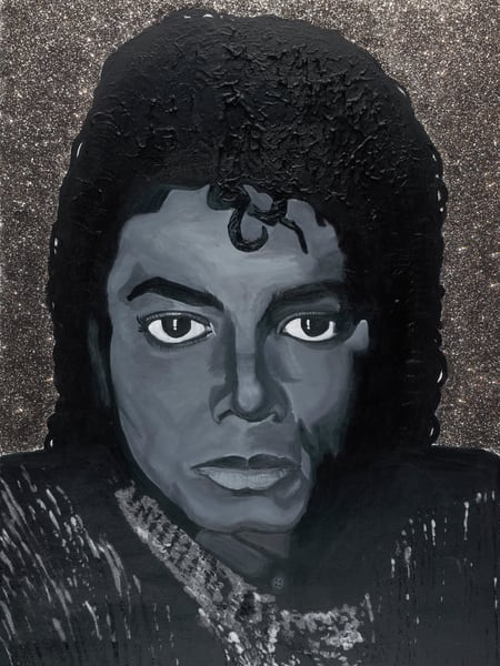 Michael Jackson – Men From Mars Art | Robin Imaging Services