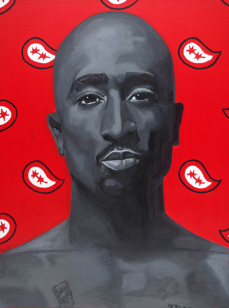 Tupac Shakur – My 1st Thought Art | Robin Imaging Services