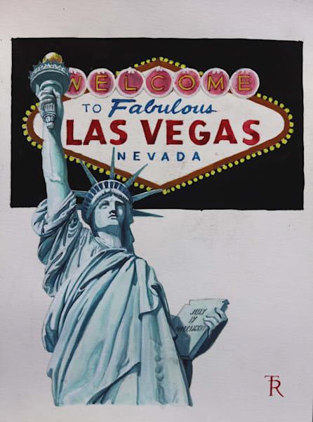 Tomasz Rut Fine Art | Classics United | Welcome to Vegas