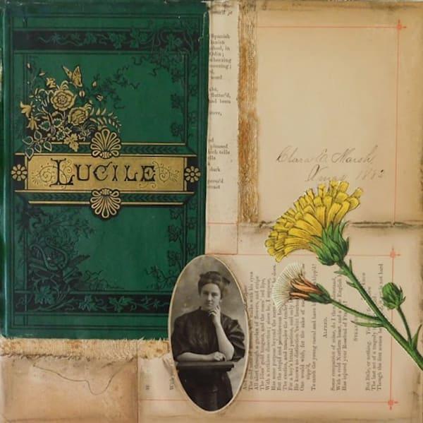 Collage, vintage-paper, cutpaper