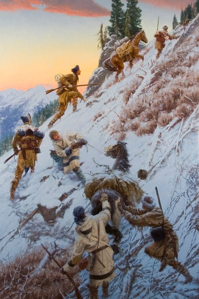Crossing The Most Terrible Mountains by Charles Fritz