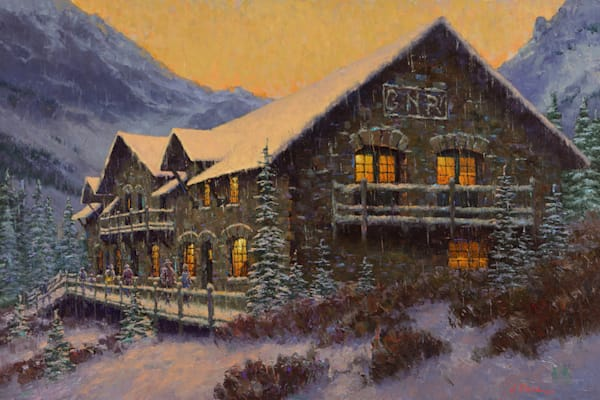 Sperry Chalet by Charles Fritz