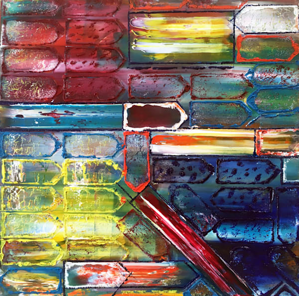 Traffic Jammed original urban art