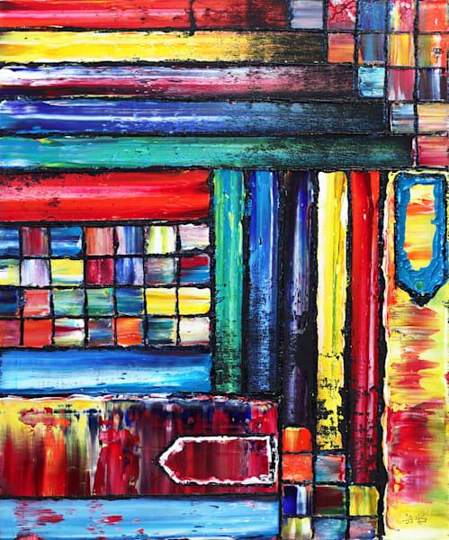 Mixed Signals original oil painting