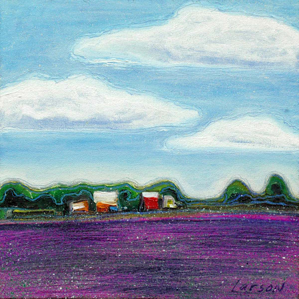 'Cloud Series - Cozy Farm' celebrates the beauty of country life