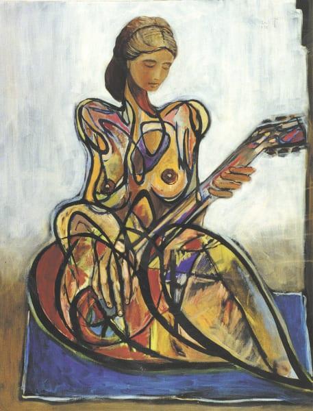 The String Player Art | Sandy Garnett Studio
