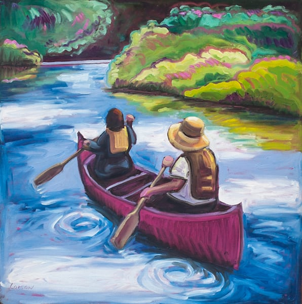 'Life is but a dream' on this magical canoe ride.