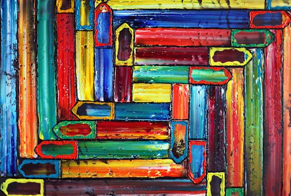 Exodus original PMS abstract painting