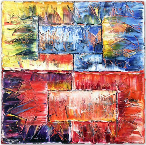 Architecturally Yours original abstract painting