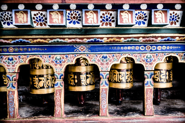 Bhutan Prayer Wheels 1h