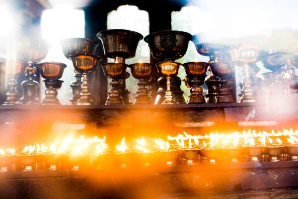 Butter Lamps 2 Bhutan